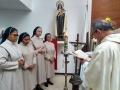 Cuatro hermanas misioneras de Colombia se incorporan a la vida del centro