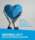 Desarrollo Solidario del centro publica la actividad realizada en 2017