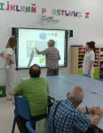 Los residentes del centro aprenden a cuidar el medio ambiente